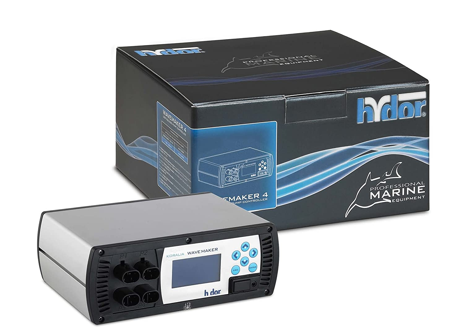 Hydor Koralia Wavemaker 4-Way 12V Deluxe Controller LCD Display use with Koralia Controllable 12V Pumps ONLY