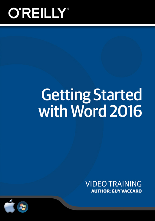 Getting Started With Word 2016  Online Code