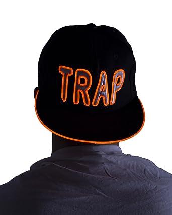 Electric Styles Bombilla Gorro, diseño: Trap, Orange - Orange: Amazon.es: Deportes y aire libre