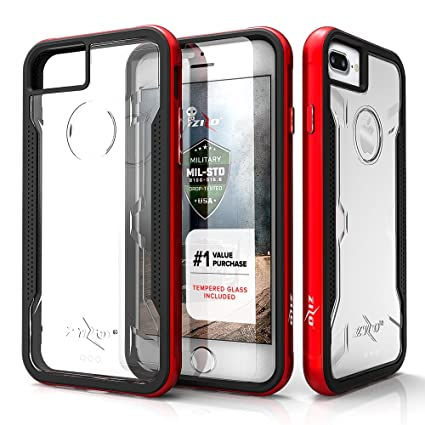 iphone 7 plus case with screen protector