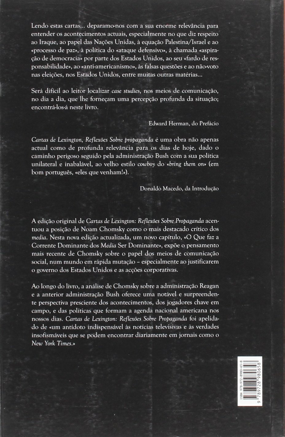 Cartas de Lexington: Reflexões Sobre Propaganda: Vários ...