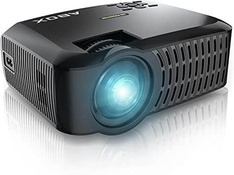 ABOX Proyector Resolución Nativa 1280*720p 3600 Lúmenes, LED Video ...