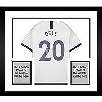 $624 » Framed Dele Alli Tottenham Hotspur Autographed 2019-2020 Home Jersey - Autographed Soccer Jerseys