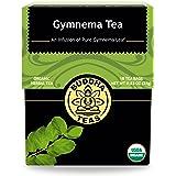 Organic Gymnema Sylvestre Leaf Tea - Kosher, Caffeine Free, GMO-Free - 18 Bleach Free Tea Bags