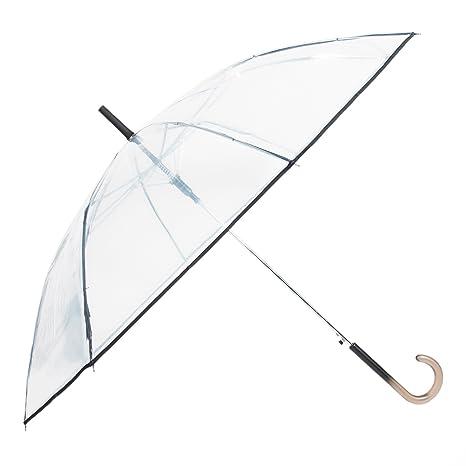 Parfois - Paraguas Paraguas Grande Liso - Mujeres - Tallas L - Incolor