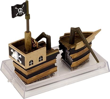 Amazon Com Jw Pet Company Activair Pirate Ship Aquarium Ornament