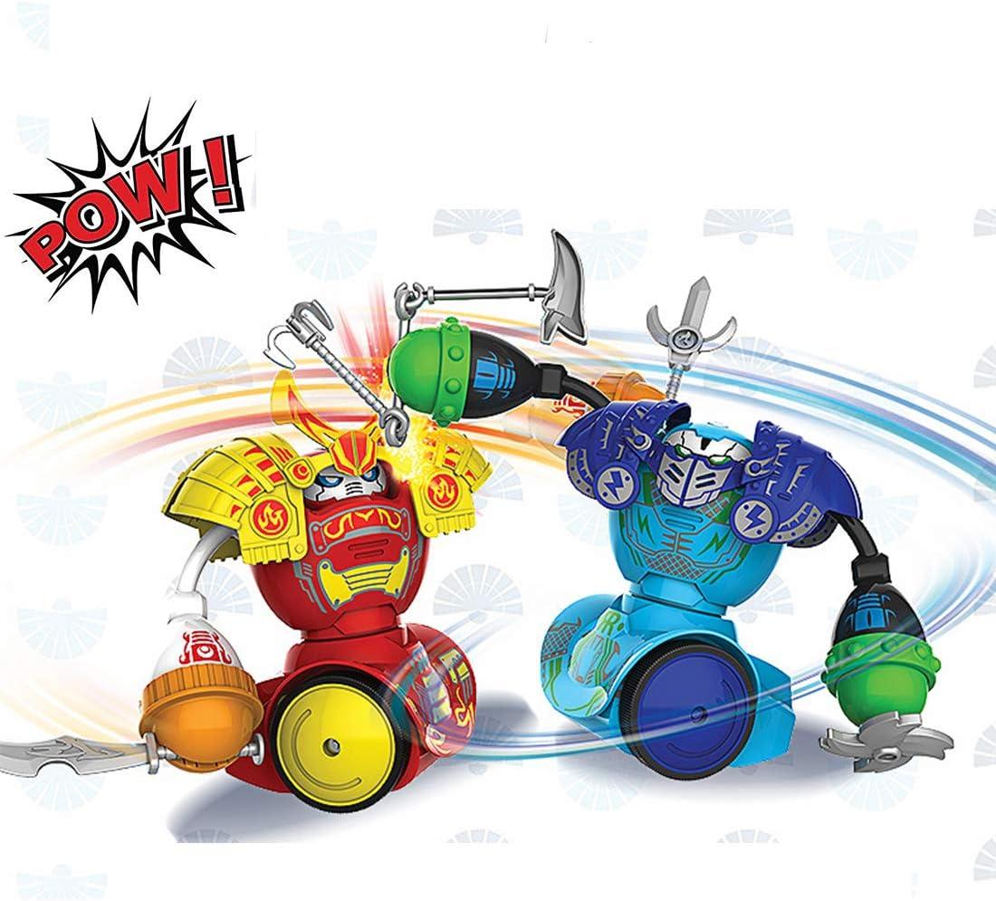 Robot Toys, Control Remoto Boxing Robot Fighting Robot, Robot Kombat, Paquete Doble, Batalla Multijugador Adecuado Para Niños y Niñas, Navidad, Regalos de Cumpleaños (Actualización De Guerrero): Amazon.es: Deportes y aire libre