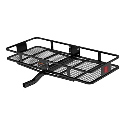 CURT 18152 Cargo Basket Hitch Trailer Hitch Cargo Carrier, 500 lbs. Capacity, 60-Inch x 24-Inch x 6-Inch, Fits 2-Inch Receiver: Automotive
