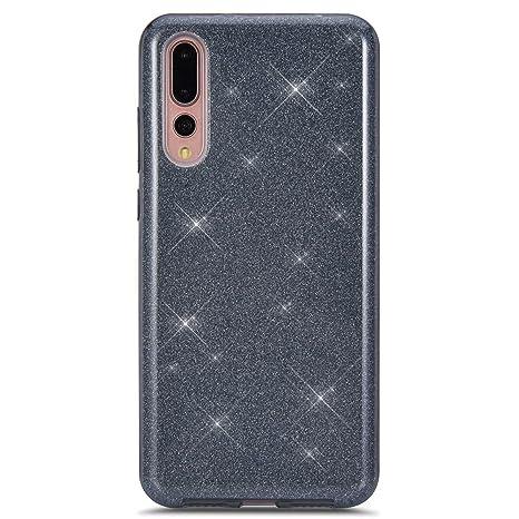 Felfy Okssud Carcasa Huawei P20 Pro Bling Glitter,Funda ...