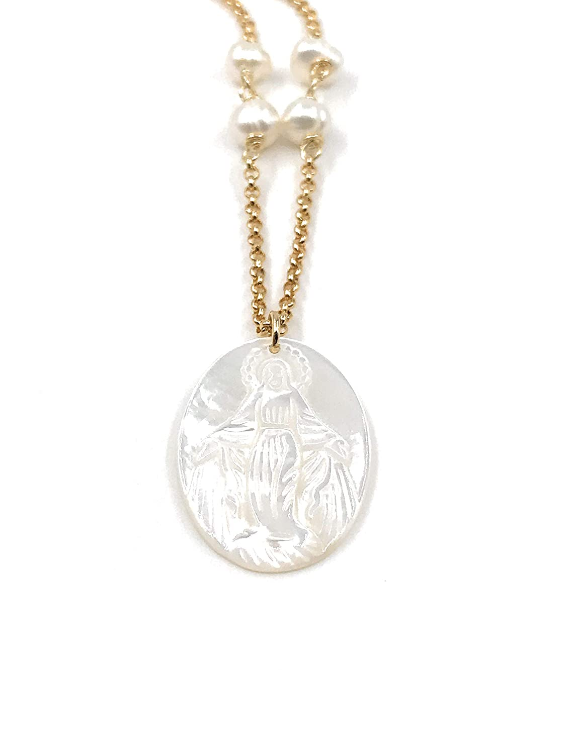 Necklace-Miraculous Medal Necklace