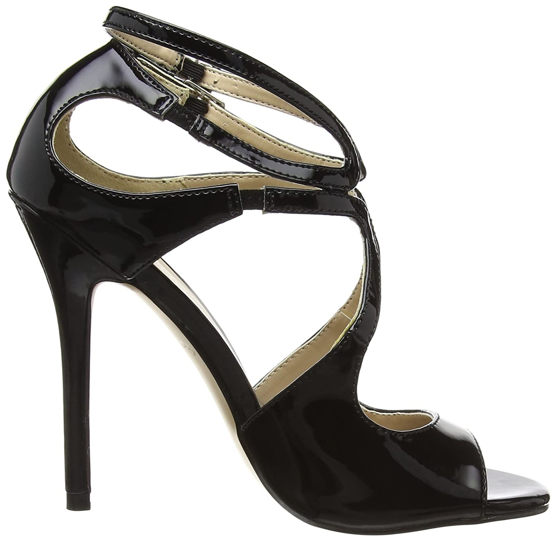 b, Escarpins FemmeNoir (Black)2 UK (35 EU)