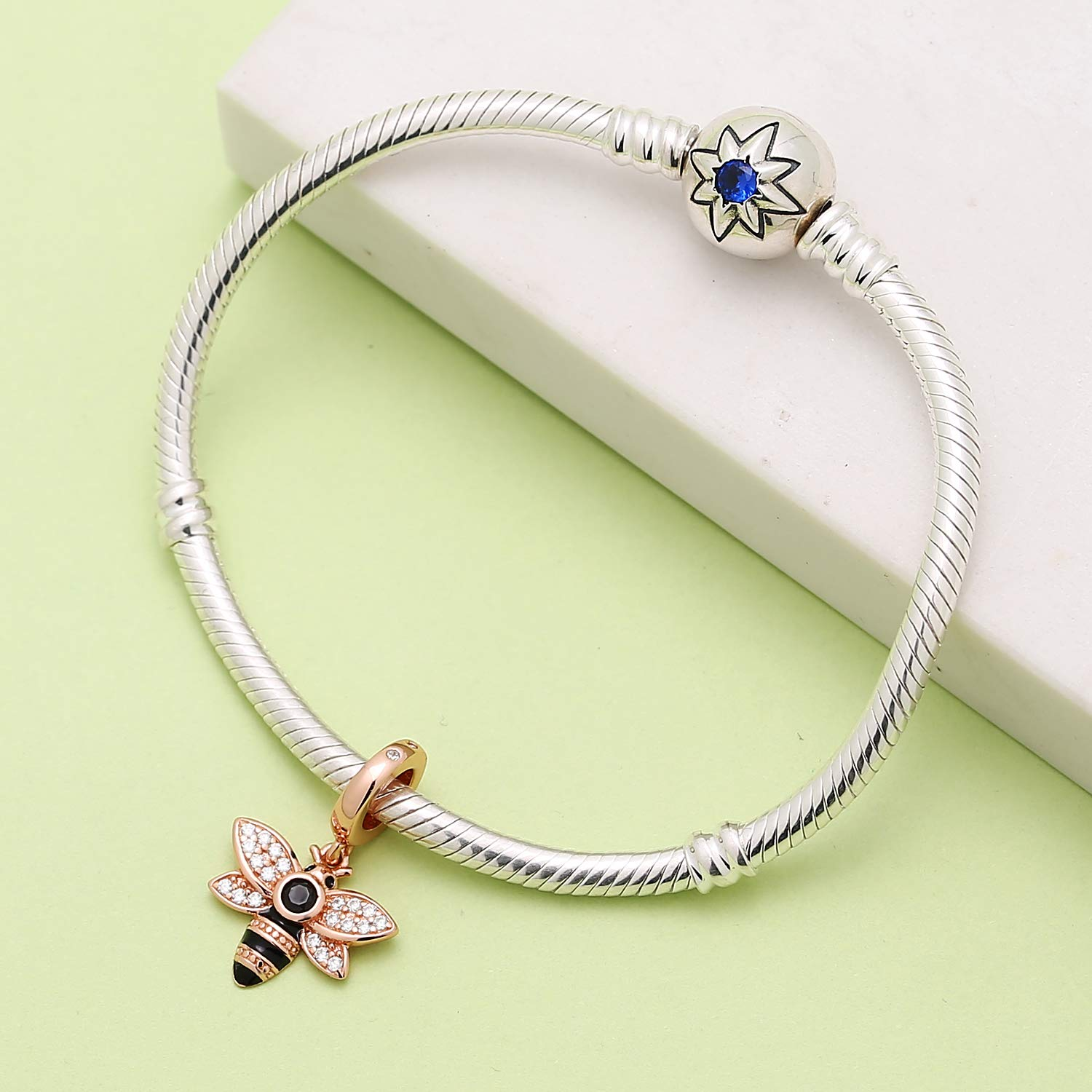 Jewelry & Accessories Authentic 925 Sterling Silver Animal Pendant Bead Monkey Hanging Charm Fit Original Pandora Bracelet Bangle Women Diy Jewelry Quality First Beads & Jewelry Making