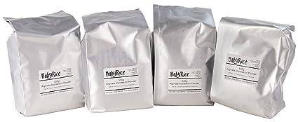 BabyRice - Polvo de moldeo de Material de impresión de alginato Cromado (Cambio de Color