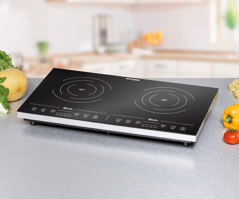 Amazon.com: Inducción Doble Placa De Cocción: Kitchen & Dining