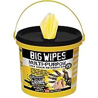 Big Wipes Bgw24174x 4300Multi-Purpose Lingettes Seau de nettoyage–Jaune