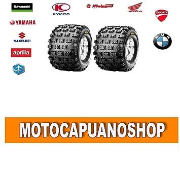 Par gomas goma Neumáticos ATV Quad 20 x 10 x 9 20 10 9 20 x 10 - 9 Ambush c9308 F: Amazon.es: Coche y moto