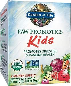 Garden of Life - RAW Probiotics Kids - 3.4 oz (Shipped Cold)