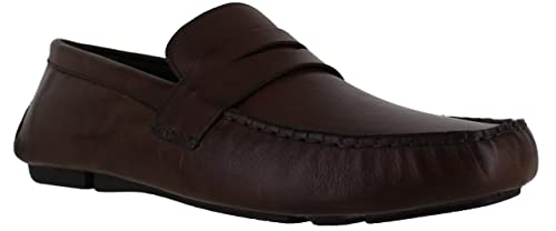 Red Tape Cranfield Mens Slip on Leather Penny Driving Loafer Shoes UK 7