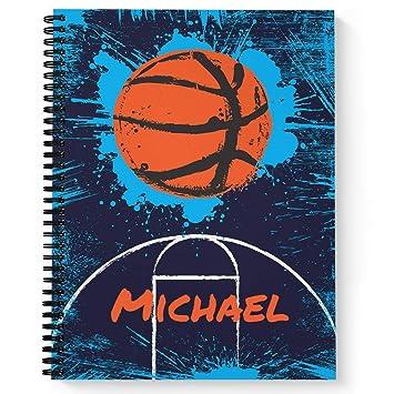 Slam Dunk baloncesto personalizado deportes cuaderno de espiral ...