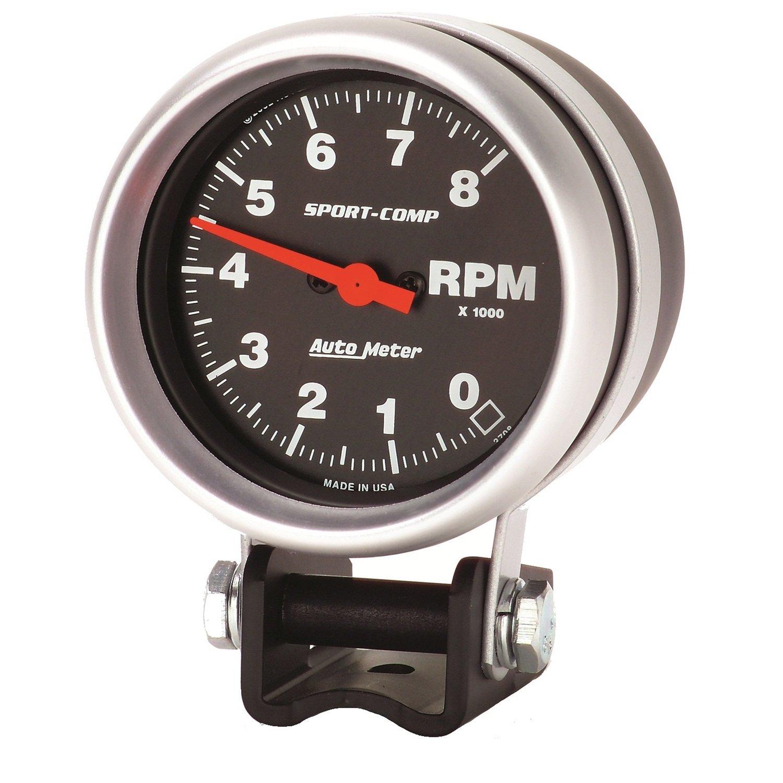 Auto Meter 3708 Sport-Comp Mini Competition Tachometer