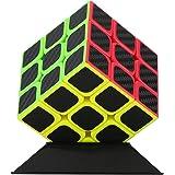 Rubik's Cube Zauberwürfel, Original Magic Cube 3x3 Speedcube, Kohlefaser Aufkleber für schneller und präziser