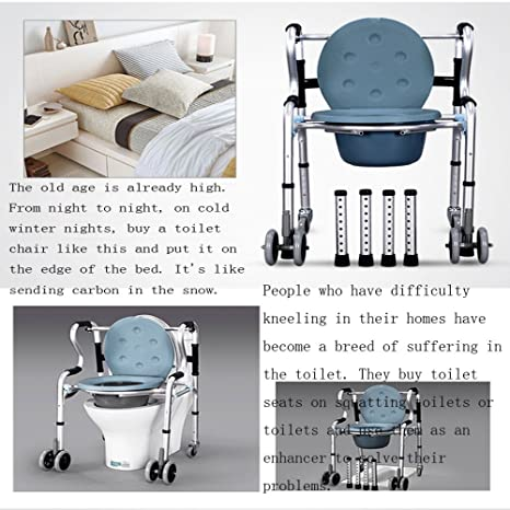 Tremendous Fengrong Bathroom Seat Four Legged Walker Pulley Folding Pdpeps Interior Chair Design Pdpepsorg