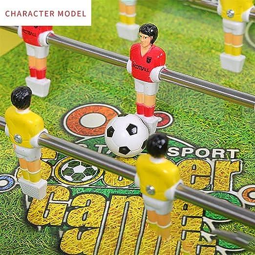 WJMLS La Competencia de la Mesa de Juego de futbolín de la Mesa de futbolín clasificó la arcada de fútbol para el Deporte en la Sala de Juegos Interior: Amazon.es: Hogar