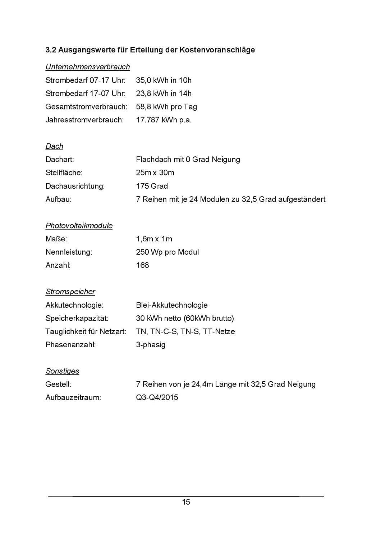 Technischer Betriebswirt Projektarbeit Präsentation Ihk Photovoltaik