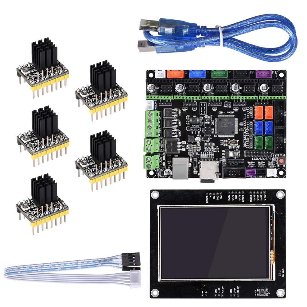 Yangxz BIGTREETECH 32 bits SKR V1.1 MKSGEN-L Control de Placa Base ...