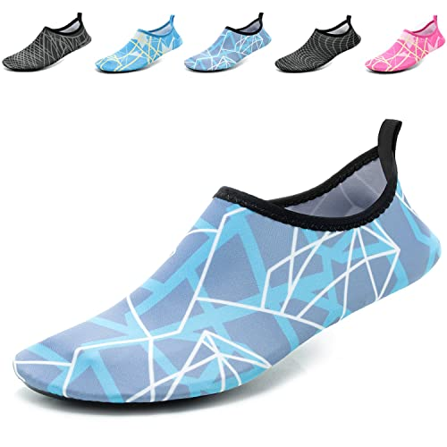 12d2e5798dee CASMAG Men Women Quick-Dry Water Shoes Barefoot Aqua Socks for Yoga Beach  Swim Pool Exercise Surf  Buy Online at Low Prices in India - Amazon.in