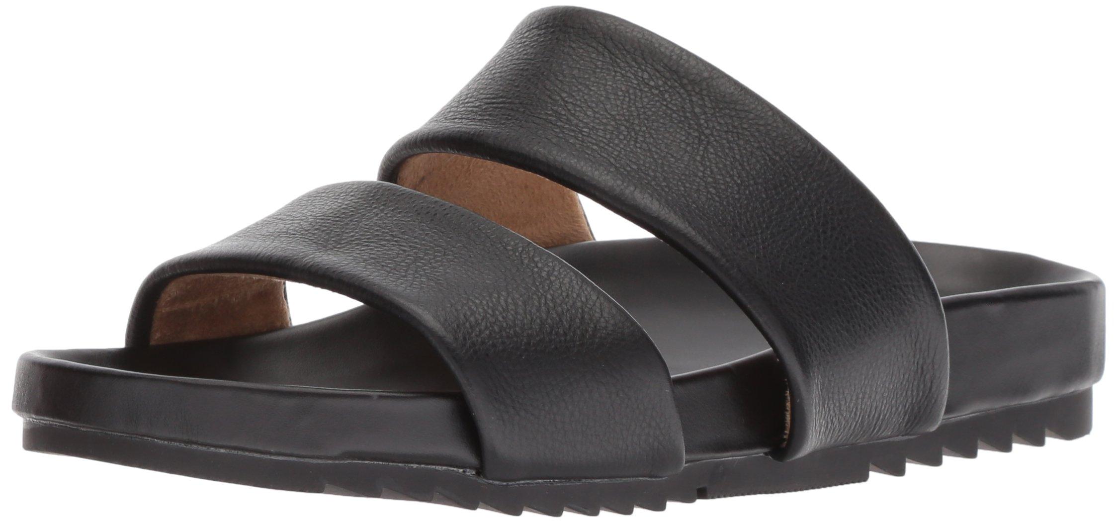 Naturalizer Women's Amabella Slide Sandal, Black, 9 W US
