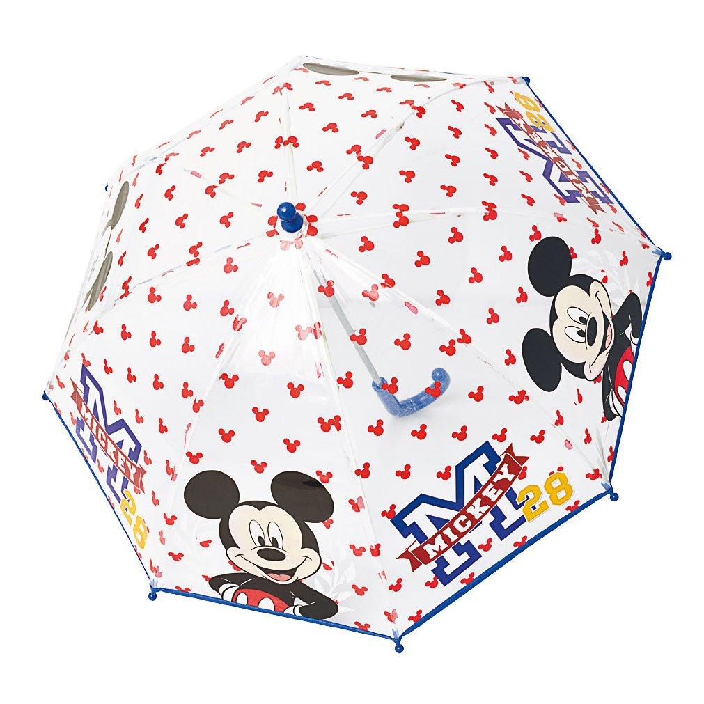 Le Monde du Parapluie - Disney - Mickey - Parapluie Canne Long pour Garçons, 42 cm, Transparent PERLETTI50111MICKEY