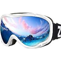 ZIONOR Lagopus Ski Snowboard Goggles UV Protection Anti Fog Snow Goggles for Men… photo