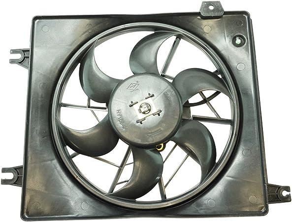 Ca a/c aire acondicionado ventilador de condensador para Hyundai Elantra Coupe: Amazon.es: Coche y moto