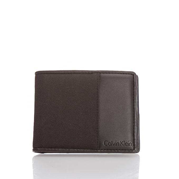 nuovo arrivo b9f26 65212 Calvin Klein, portafoglio da uomo con logo stampato