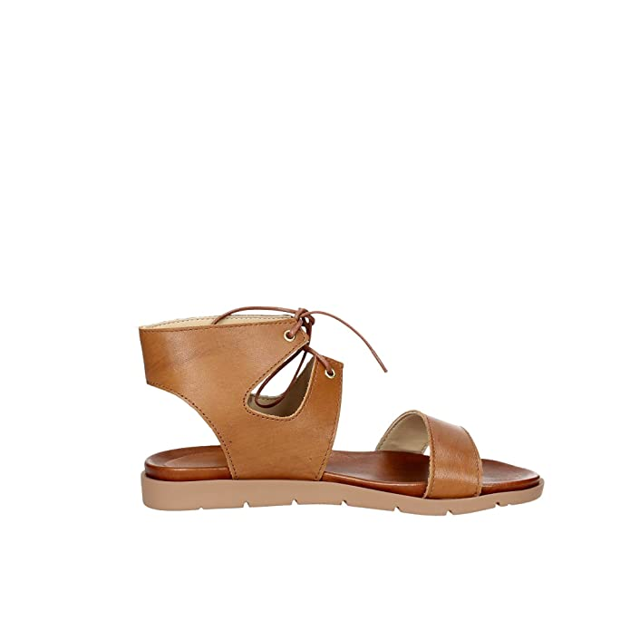 Pregunta IAL25635-NB 001 Sandalo Donna Cuoio 39 GWVuMT6
