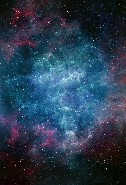Amazoncom Aofoto 4x6ft Dreamy Starry Sky Backdrop Universe Nebula
