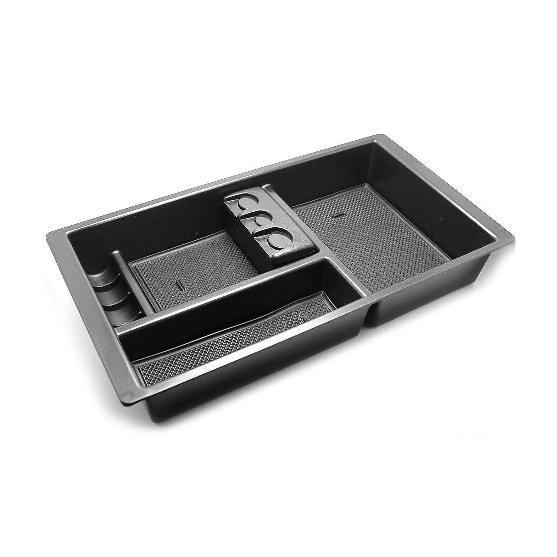 2011-2016 F350 Center Console Tray YaaGoo Center Console Organizer Tral for Ford SuperDuty F250