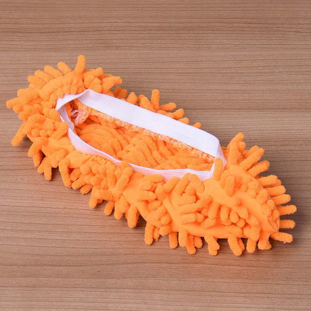 1 Paio Blue Pantofole mocio in Microfibra Ritapreaty per la Pulizia della casa