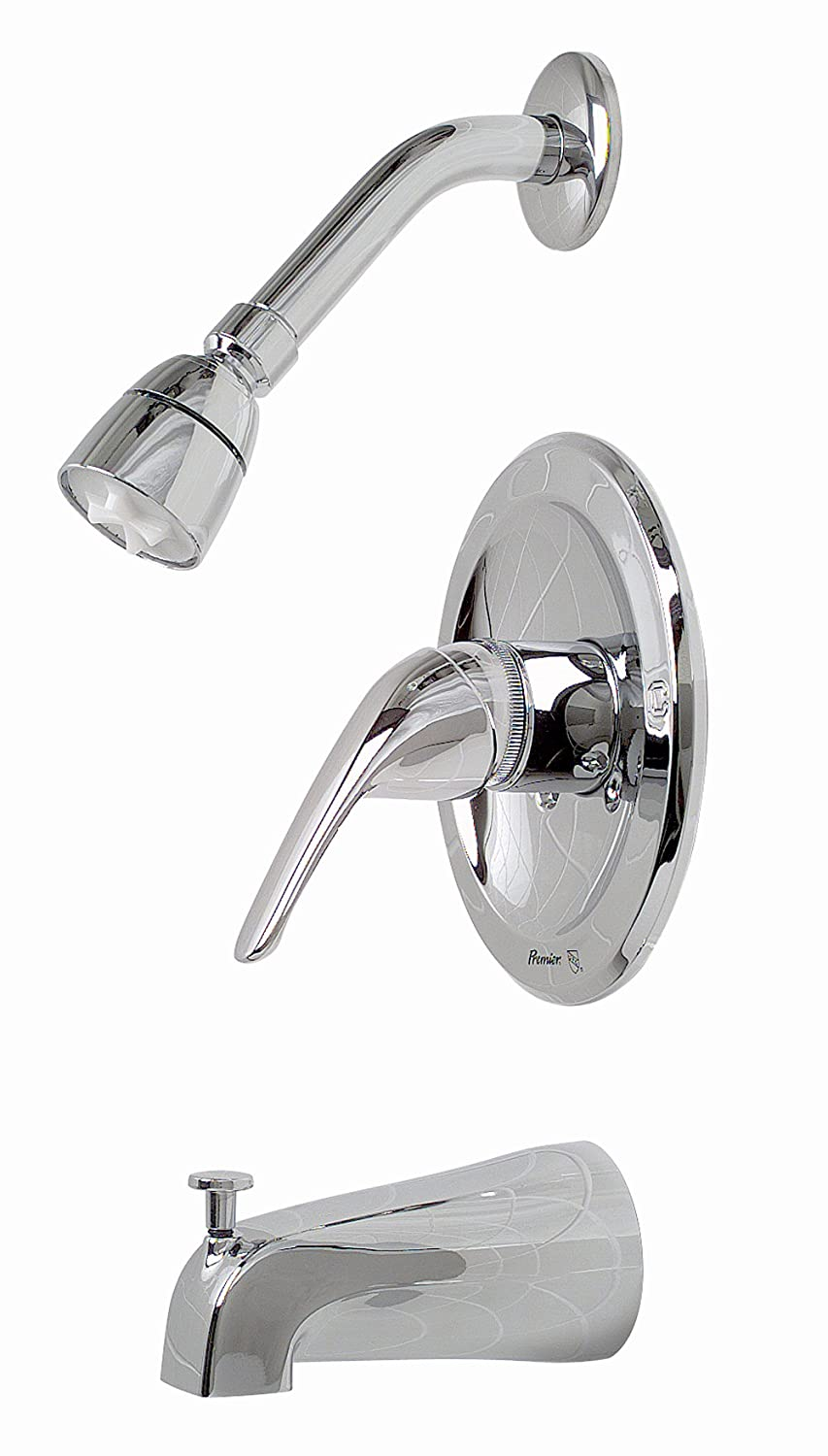 Premier 120400 Bayview Single-Handle Tub & Shower Faucet, Chrome ...