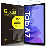 IVSO [2 Pack] Screen Protector for Samsung Galaxy Tab A7 (SM-T500/T505/T507) 10.4 2020, 9H Hardness Tempered Glass for Samsun