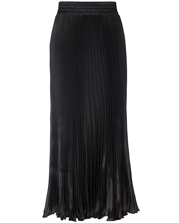 1c8642661ed9e Tempt Me Women Retro High Waist Pleated Fishtail Midi Skirt Dress ...