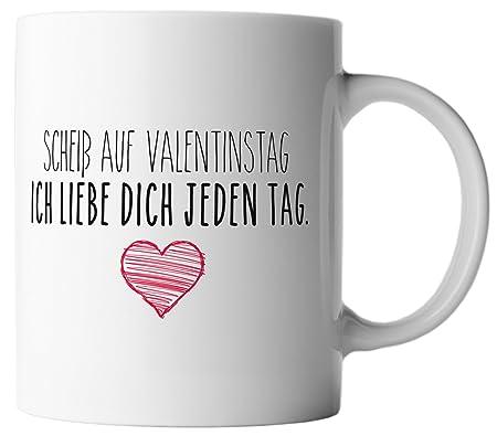 Amazon.de: vanVerden Tasse Scheiß auf Valentinstag, ich liebe dich ...