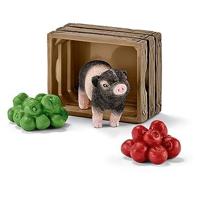 Schleich - 42292 - Mini Cochon avec pommes -