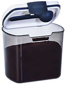 Prepworks by Progressive Coffee ProKeeper, PKS-600, 1lb Bag of Coffee, Air-Tight Storage, UV-Tinted