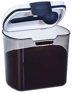 Prepworks by Progressive Coffee ProKeeper, PKS-600, 1lb Bag of Coffee, Air-Tight Storage, UV-Tinted