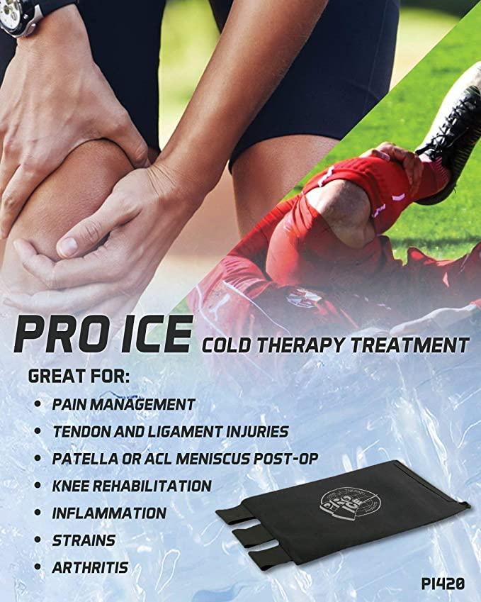 Pro Ice Knee Cold Therapy Wrap - Specially Designed Cold ...