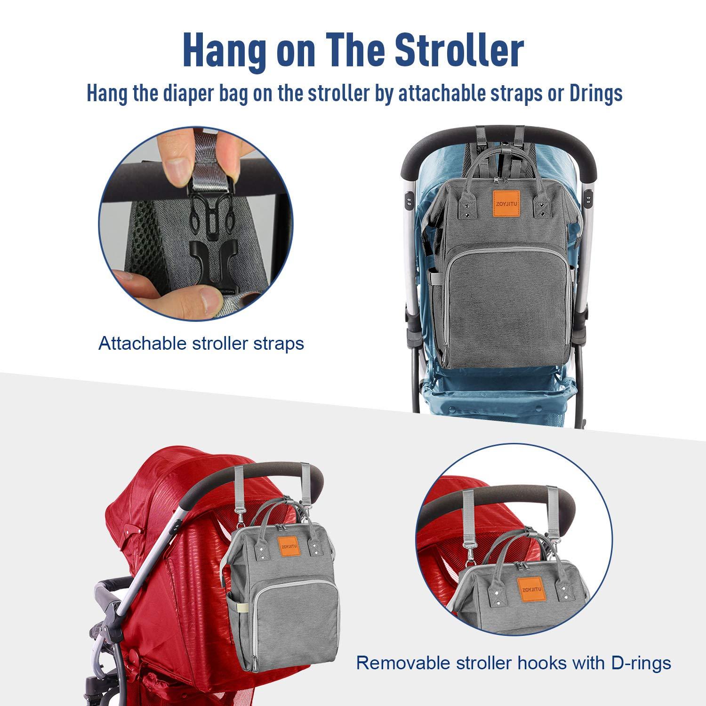 Insulated Diaper Bag Backpack