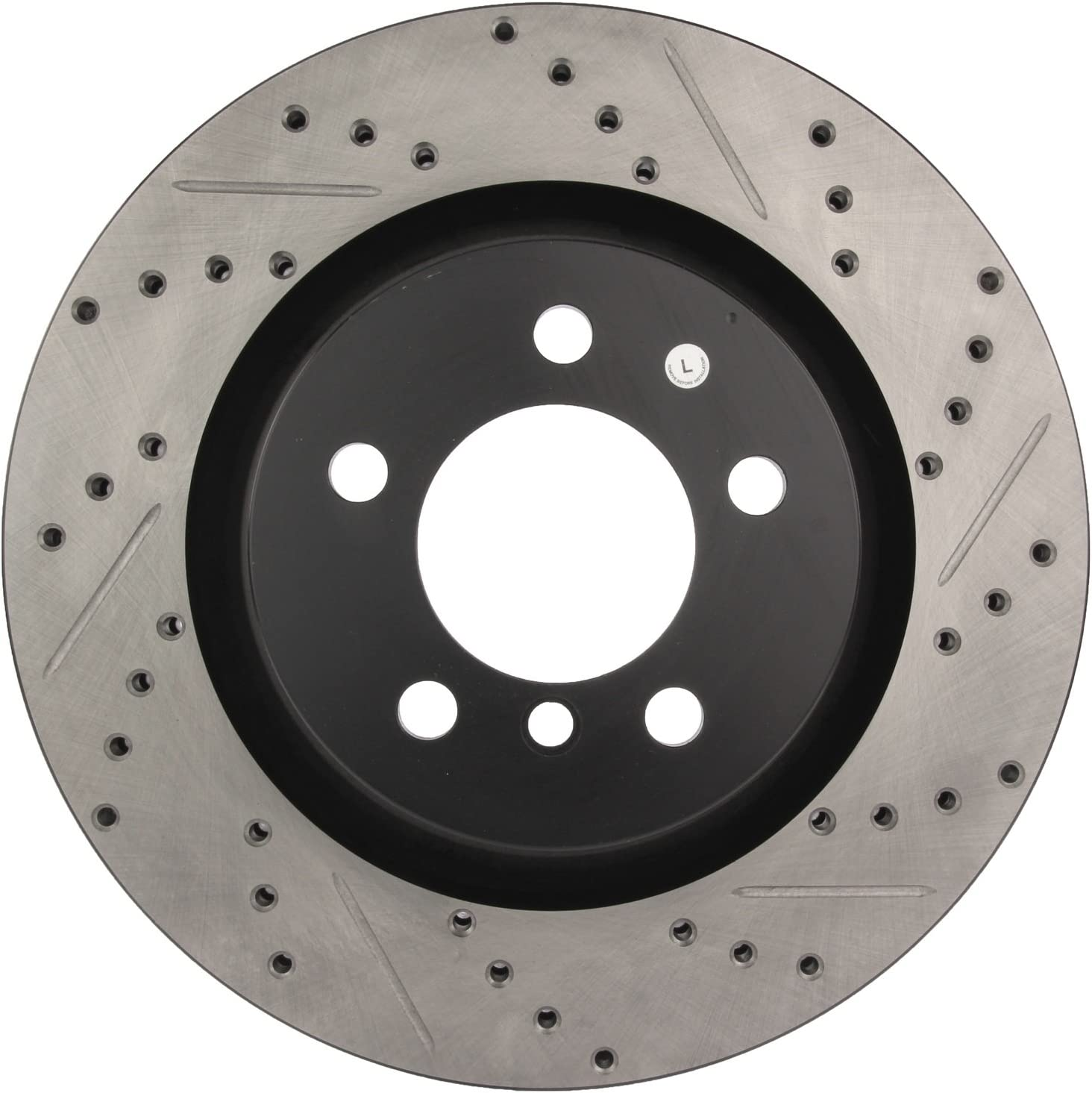 StopTech 127.35116L Sport Drilled//Slotted Brake Rotor 1 Pack Front Left