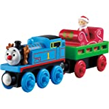 Fisher-Price Thomas the Train Wooden Railway Santa's Little Engine